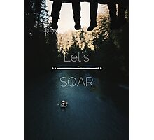 Let's Soar Photographic Print