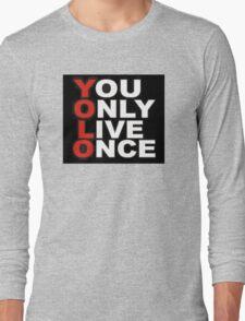 Yolo Items Long Sleeve T-Shirt