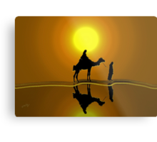 The road to Bethlehem'... Metal Print