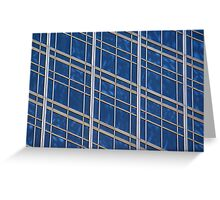 Abstract windows Greeting Card