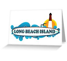 LBI - Long Beach Island NJ. Greeting Card