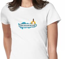 LBI - Long Beach Island NJ. Womens Fitted T-Shirt