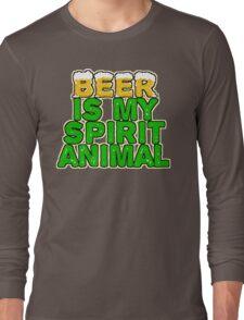 Beer Spirit Animal Long Sleeve T-Shirt