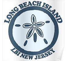 LBI - Long Beach Island NJ. Poster