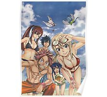 Fairy Tail Friends  Poster