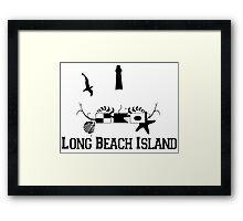 LBI - Long Beach Island NJ. Framed Print
