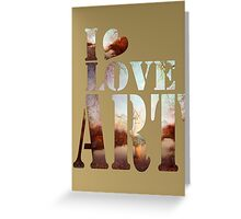 heART of the river Greeting Card