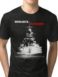 Bismarck - Battleship Tri-blend T-Shirt