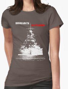 Bismarck - Battleship Womens Fitted T-Shirt