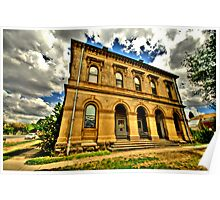 Relic of a Golden Age - Clunes, Victoria Australia - The HDR Experience Poster