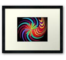 Blossom Swirl Framed Print