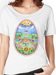 Pysanka Easter Women's Relaxed Fit T-Shirt