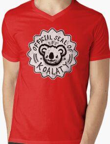 Koalaty Mens V-Neck T-Shirt