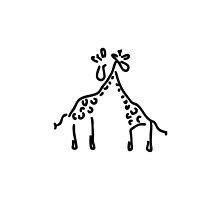 giraffe love by lineamentum