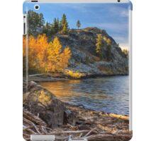 Last Light On Taylor Lake iPad Case/Skin