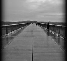Heaven's Tears Across The Hudson by Tim Holmes