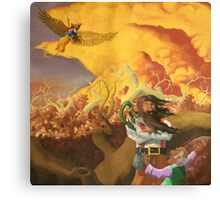 Flynt and the Mayor Canvas Print