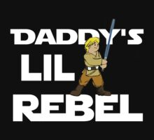 Daddy's Lil Rebel Kids Clothes