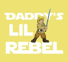 Daddy's Lil Rebel One Piece - Short Sleeve