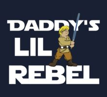 Daddy's Lil Rebel One Piece - Long Sleeve