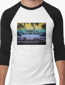 Beachin' Swag Men's Baseball ¾ T-Shirt