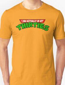 TMNT 30's Old Man T-Shirt T-Shirt