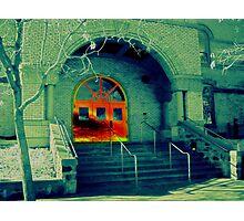 Mystery Doors Photographic Print