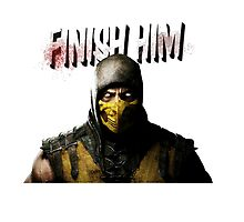 Mortal Kombat X - Finish Him by rorkstarmason