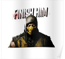 Mortal Kombat X - Finish Him Poster