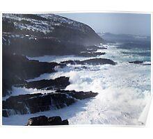 Ragged Coast of Newfoundland Poster