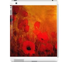 Poppy heaven'... iPad Case/Skin