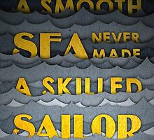 Quote - A Smooth Sea (Yellow Version) by keepersandmates