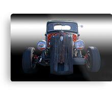 1936 Plymouth 'Rat Rod' Coupe Metal Print