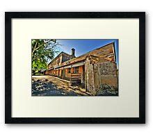Bedlam - Beechworth Lunatic Asylum c1878 - The HDR Experience Framed Print