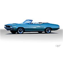 1970 Buick Grand Sport GS Convertible Photographic Print