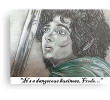 Dangerous Business Metal Print