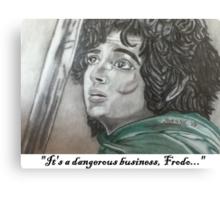 Dangerous Business Canvas Print