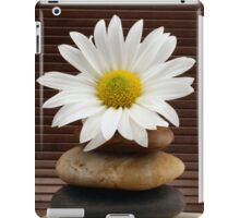 Zen Spa Daisy Meditation Tower iPad Case/Skin