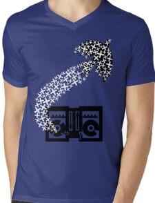 Peace through Music Mens V-Neck T-Shirt