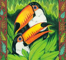 Toco Toucans by Catherine  Howell