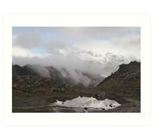Mount Shuksan in the Fog Art Print