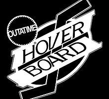 Hover Board Logo (White) by AdmiralFlapPlak