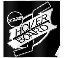Hover Board Logo (White) Poster