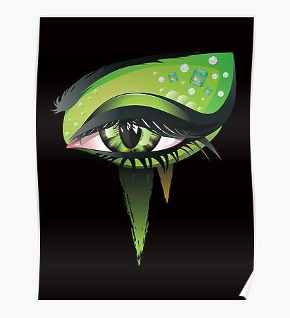 Carnival Vampire Eyes Poster