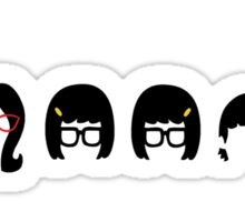 Belcher Line Up....Dina? Sticker