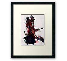 Bloodborne - Hunter Framed Print