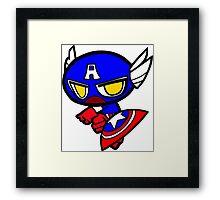Capitan America! Framed Print