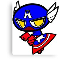 Capitan America! Canvas Print