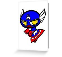 Capitan America! Greeting Card