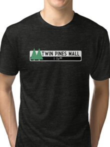 Twin Pines Mall logo (Back to the Future) Tri-blend T-Shirt